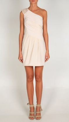 Tibi New York ~ Cloister Beading One Shoulder Dress ~ $572