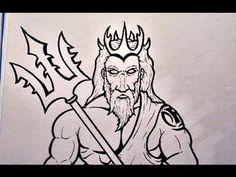 Αποτέλεσμα εικόνας για poseidon sketch