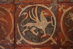 Floor Tiles at Winchester Cathedral (Copyright Dave Halley 2011)