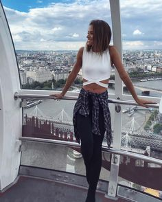 Views from the top « Street Style « Look Book Top Street Style, Street Style Summer, Helen Owen, Only Clothing, Diva Fashion, Fashion Models, Instagram Models, Lingerie Models, Her Style