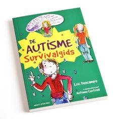 """""""De Autisme Survivalgids"""". Deze survivalgids is speciaal geschreven voor kinderen met autisme. Manieren om met lastige situaties om te gaan worden begrijpelijk uitgelegd."""