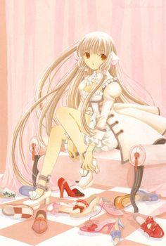 Chobits Your eyes only image by Clamp