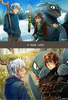 ideas how to train your dragon fanart anime jack frost Disney Pixar, Disney And Dreamworks, Disney Art, Disney Movies, Punk Disney, Disney Characters, Humor Disney, Funny Disney Memes, Disney Cartoons