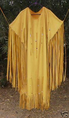 buckskin dress
