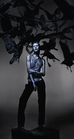 Nick Knight pays tribute to the late Alexander McQueen in this shoot for the…