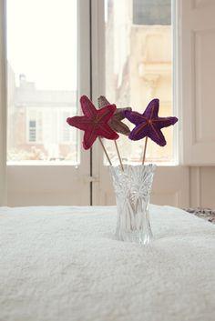 El blog de Dmc: Ganchitos nos regalan un patrón de ganchillo. Crochet Star. Diagram only.   ☀CQ #crochet #crafts #DIY