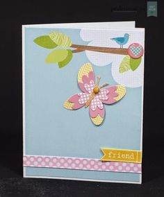 Craft Asylum: Two happy cards