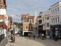 High Street, Winchester, Hampshire