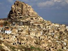 Uchisar Fortress, Cappadocia, Turkey. We hiked from Goreme to the fortress, then had the most amazing meal in town.
