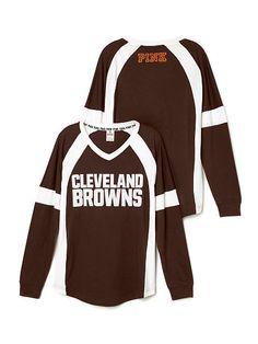 Cleveland Browns Bling Varsity Crew - PINK - Victoria's Secret