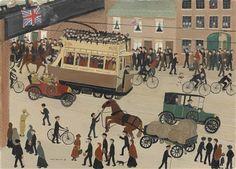 Armistice Day, 11th November by Helen Bradley