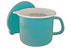 One Kings Lane - Style Forecast - 4-in-1 Stock Pot, Turquoise