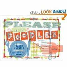 Please Pass the Doodles - placemats