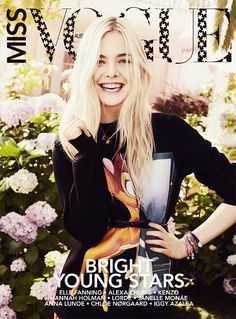#givenchy sweater :: Elle Fanning in Miss Vogue Australia, September 2013