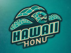 Hawaii Honu - Primary Logo Concept by Daniel Otters