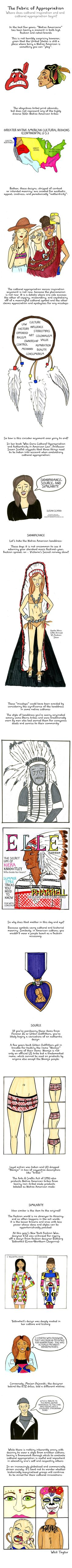 This fascinating comic explains why we shouldn't use some Native American designs.