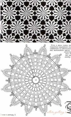 Breathtaking Crochet So You Can Comprehend Patterns Ideas. Stupefying Crochet So You Can Comprehend Patterns Ideas. Crochet Doily Diagram, Crochet Motif Patterns, Crochet Mandala, Crochet Chart, Crochet Squares, Thread Crochet, Crochet Designs, Crochet Doilies, Crochet Stitches