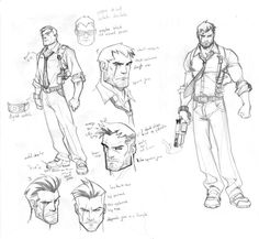New project Character design by CarlosGomezArtist on deviantART