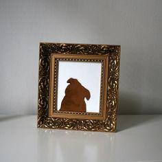 pan pejsek je poněkud narcis. vždycky byl a vždycky bude. nezkoušejte ho vyndat z honosného rámečku. štěkne a kousne! Panama, Paintings, Frame, Dogs, Decor, Picture Frame, Decoration, Panama Hat, Paint