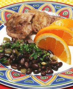 Brazilian Chicken and Black Bean Stew