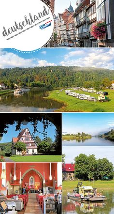 Wohnmobil-Tour im Weserbergland: Stille Tage am Fluss