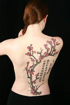 Tree tattoo... Love this!!