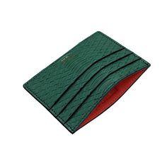2016/07/25 22:47:16  michaelsa  Custom Military Green Python Card Holder / Orange Leather Lining.  #michaelsa #lookasyoufeel #fashion #fsahion #thebillionairesclub #hypebeast #essentials #cardholder #python #pythonskin #wallet #snakeskin #upscale #luxury #mensfashion #menswear #mensstyle #madeinnyc #madeinnewyork #barneys #ssense #luisaviaroma #farfetch #mrporter