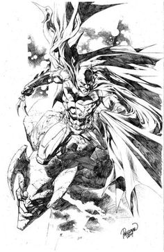 Ungoliantschilde — some penciled artwork by Carlo Pagulayan.