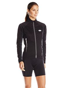 Sugoi Womens RS 120 Convertible Jacket BlackBlack Large ** See this great product.(This is an Amazon affiliate link and I receive a commission for the sales)