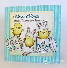 Sunny Summer Crafts: Chicks and Ice-Cream