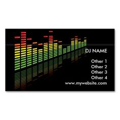335 best dj business card templates images on pinterest business dj business card dj business cards business card templates business card design buy wajeb Image collections