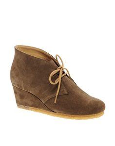 Clarks Originals Yarra Suede Desert Boot. want