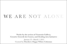 """We Are Not Alone Anthony Ballard Group Exhibit """"We Are Not Alone""""  at Fountain Gallery NYC AnthonyBallard.Com FountainGallery.Com"""