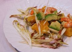 Salad of crayfish and avocado recipe | Fish