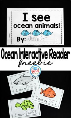 I always loved using interactive readers when I was teaching. They are a great tool to help improve reading skills and increase vocabulary. My new freebie, I See Ocean Animals Interactive Reader, allows students to do both of these things, while learning about ocean animals. Animal words can be tricky and this resource will help students to better retain what they are learning.