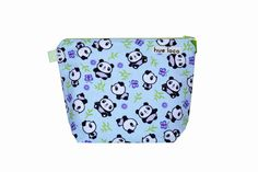 Panda What  Small Bag by hueloco on Etsy