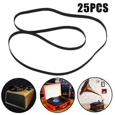 Kinco 25Pcs Replace Turntable Phono Plattenspieler Phonograph LP Vinyl Record Player Belt 408x5x0.6mm Wholesale Turntable Belt  Price: 23.99 & FREE Shipping #computers #shopping #electronics #home #garden #LED #mobiles #rc #security #toys #bargain #coolstuff  #headphones #bluetooth #gifts #xmas #happybirthday #fun Vinyl Record Player, Vinyl Records, Phonograph, Lp Vinyl, Electronics Gadgets, Tech Gadgets, Free Shipping, Mobiles