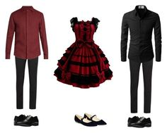 """""""Untitled #515"""" by themadhattersnightmare on Polyvore featuring Marc Fisher, Prada, Giorgio Armani and Stacy Adams"""