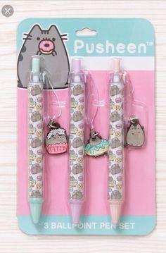 Gato Pusheen, Pusheen Shop, Pusheen Cute, Kawaii Pens, Kawaii Cat, Kawaii Room, Stationery Items, Cute Stationery, Stationary