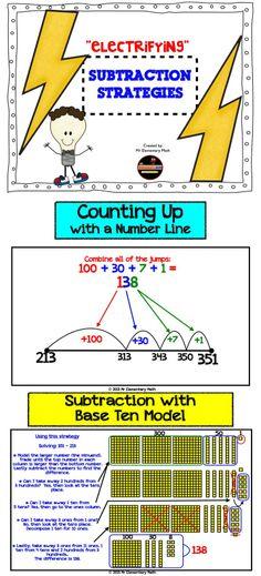 Common Core Subtraction Strategies! $
