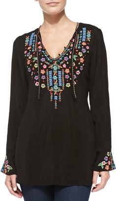 Ditsy Flower Long #Tunic