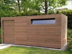FMH: Garden sheds / design garden houses, FMH metal construction and timber construction, Stuttgart . - FMH: Garden sheds / design garden sheds, FMH metal construction and timber construction, Stuttgart - Painted Garden Sheds, Wooden Garden, Shed Conversion Ideas, Home And Garden Store, Modern Shed, Large Sheds, Garden Buildings, Garden Houses, Bike Shed