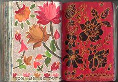 Augustwren,. Painting a Day, Sketchbook flowers, pattern,