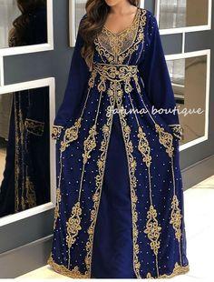 African Attire, African Dress, Farasha Abaya, Hand Embroidery Dress, Moroccan Caftan, Bell Sleeve Dress, Chiffon Fabric, Georgette Fabric, Kaftan