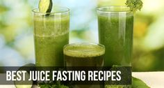Although any juice recipe works well for fasting, here we mention a few that are great for a quick weight loss regime. The recipes are equally great for detox and cleanse the body while limiting calorie intake and keeping the body prime and fit.