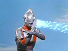 Ultraman! I guess he's a robot...