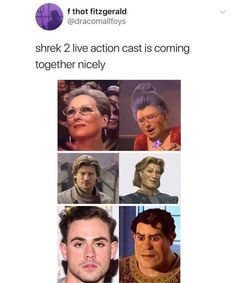 Shrek is lowkey hot as an Ogre or human 🤭 Stupid Funny Memes, Funny Relatable Memes, Haha Funny, Funny Posts, Hilarious, Funny Stuff, Random Stuff, Memes Humor, Shrek Memes