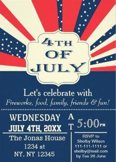 #4th_of_July_invitations. Nice design!