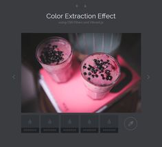 Color Extraction Effect, #Code, #Color Picker, #CSS, #CSS3, #HTML, #HTML5, #Javascript, #Resource, #Slider, #Slideshow, #Snippets, #Web #Design, #Development