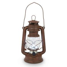 High Intensity LED Vintage-Style Hurricane Lantern | Country Western | Camping